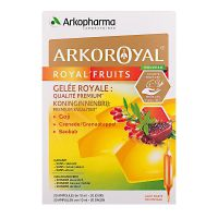Royal'fruits Arkoroyal 20x10ml