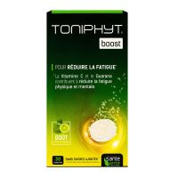 Toniphyt boost 30 comprimés effervescents