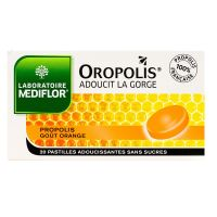 Oropolis orange 20 pastilles