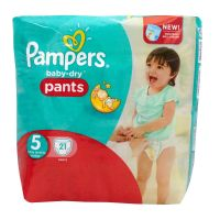 Baby-dry pants 21 couches 12-18kg (taille 5)