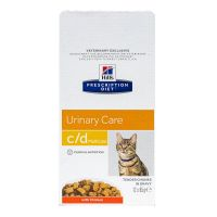 Chat c/d urinary poulet 12x85g