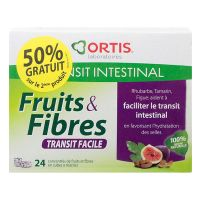 Cubes Fruits & fibres transit facile