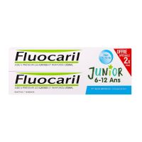 Dentifrice Junior 6-12 ans bubble gum 2x75ml