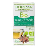 20 sachets infusion transit facile