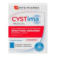 Cystima Médical infections urinaires 14 sachets
