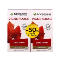 Vigne rouge lot 2x150 gélules -50%