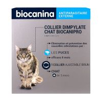Biocanipro collier chat anti-puces