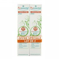 Spray circulation 17 huiles essentielles 2x100ml