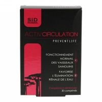 Activ Circulation Preventlife 30 comprimés