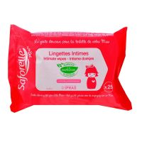 25 lingettes intimes Miss