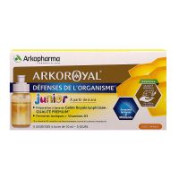 Défenses organisme Arkoroyal Junior 5x10ml