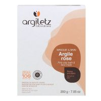 Masque & bain argile rose 200g