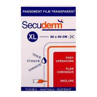 Pansement film transparent