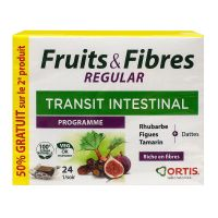 Fruits & fibres regular programme 2x24 cubes