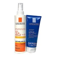 Anthelios XL spray SPF50+ 200ml + gel lavant offert