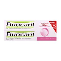 Dentifrice bi-fluoré dents sensibles 2x75ml