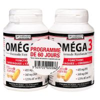 Omega 3 programme 60 jours 120 capsules