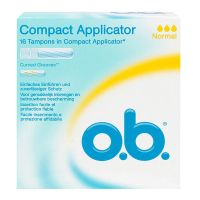 Compact 16 tampons avec applicateurs - normal