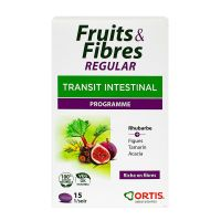 Fruits & fibres regular programme 15 comprimés