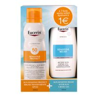 Coffret Sensitive Protect brume SPF50 200ml