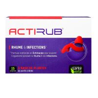 Rhume & infections Actirub - 15 comprimés