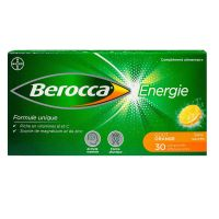 Berocca Energie orange 30 comprimés effervescents