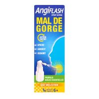 Angiflash spray mal de gorge 20ml