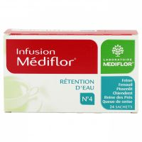 Infusion n°4 rétention eau 24 sachets