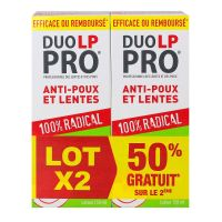 Duo LP Pro anti-poux & lentes 2x150ml