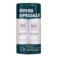 Keops déodorant spray sec 2x150ml
