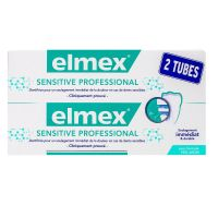 Dentifrice Sensitive Professional 2x75ml