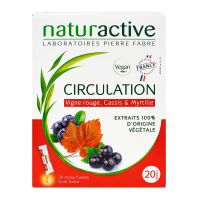Circulation stick fluides fraise 20 sticks