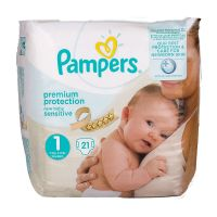 New Baby Sensitive 21 couches 2-5kg (taille 1)