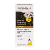 Spray gorge & bouche Miel de Manuka 25ml