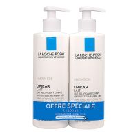 EXP Lipikar lait anti-dessèchement 2x400ml