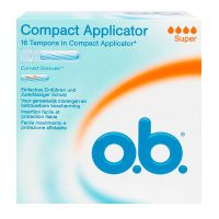 Compact tampons avec applicateurs