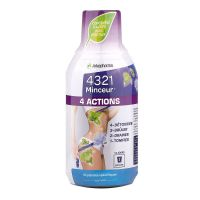 4321 minceur 4 actions 280ml