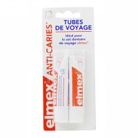 Anti-caries dentifrice 2x12ml format voyage