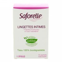 Sachet individuel 10 lingettes intimes