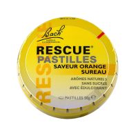 Rescue pastilles saveur orange sureau 50g