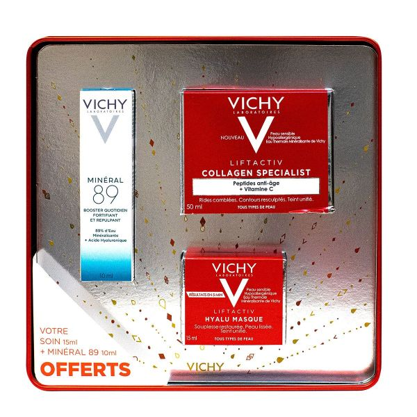 Coffret Liftactiv Noël Collagen Specialist