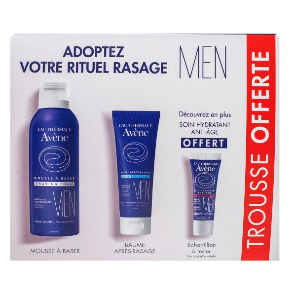 Men trousse rituel rasage
