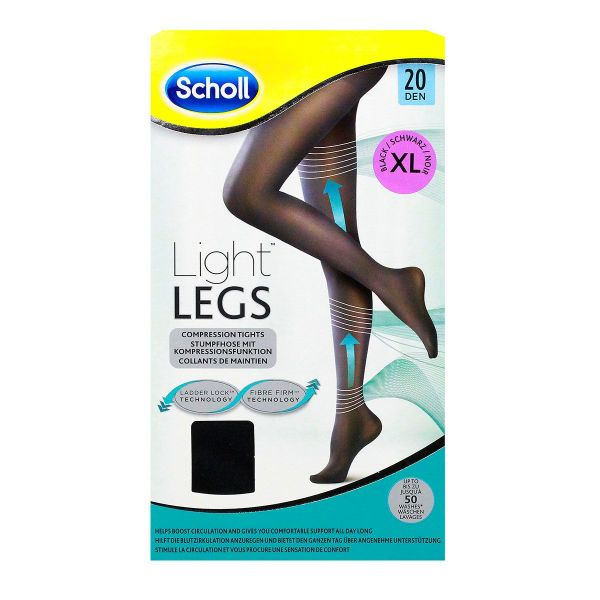 1 paire de collants Light Legs Noir 20 Den