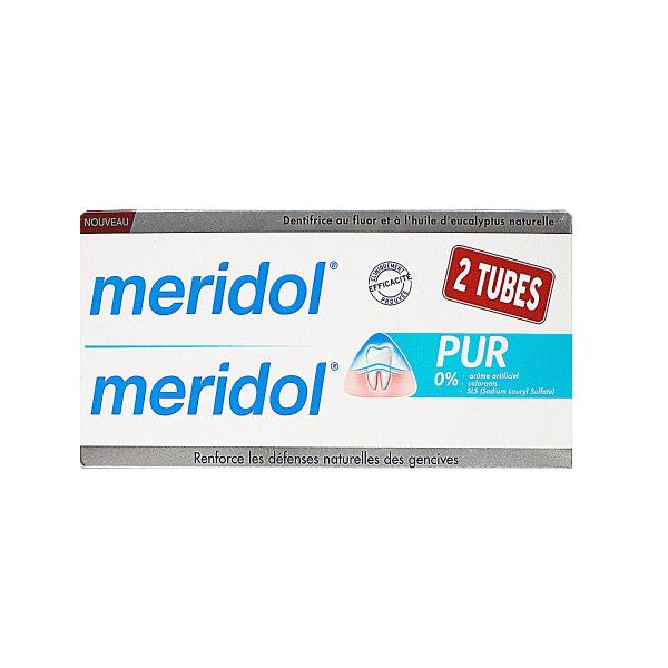 Dentifrice pur 2x75ml