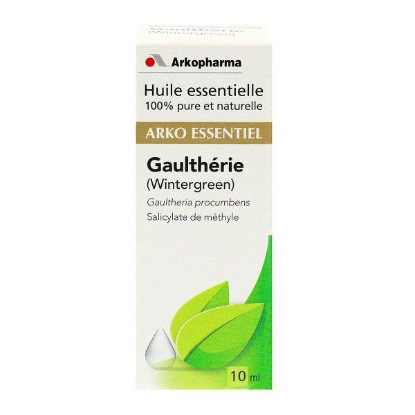 l'huile essentielle gaulthérie arko est utilisé en cas de ...