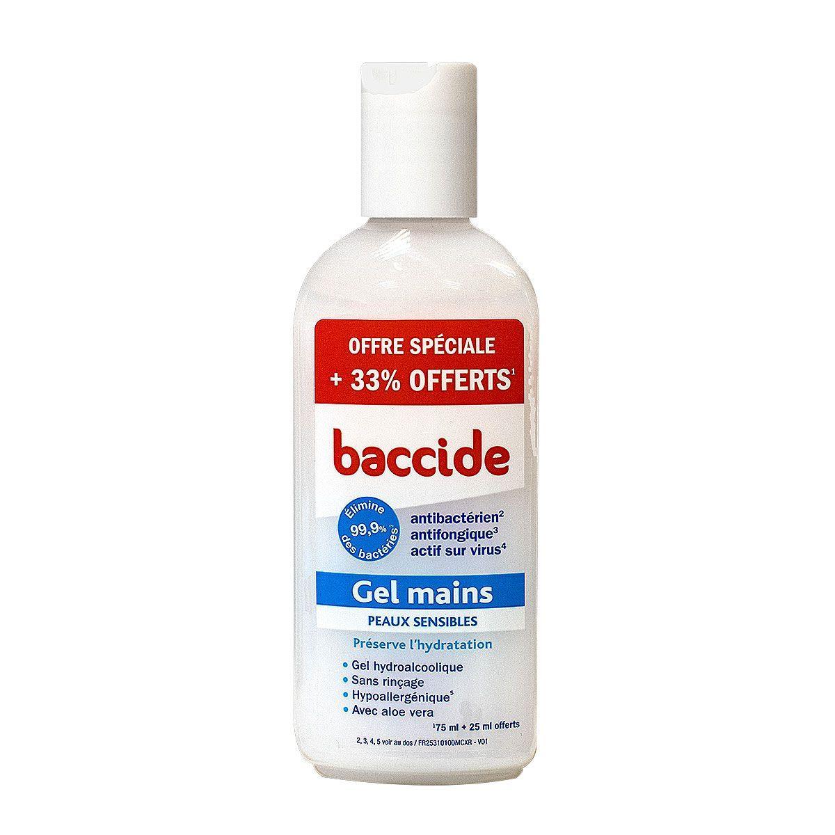 Baccide Gel Mains Est Un Soin Hydroalcoolique Utilise Pour