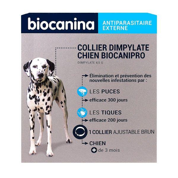 biocanipro collier anti tiques et puces prot ge votre animal contre les parasites jusqu 39 300. Black Bedroom Furniture Sets. Home Design Ideas