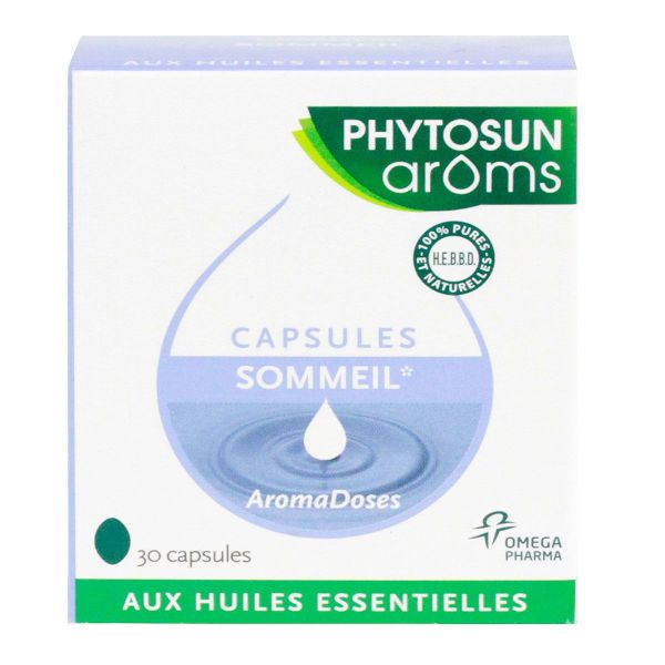 Sommeil Aromadoses 30 capsules